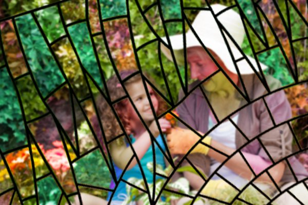 Efficient Smart Homes - mosaic garden 3