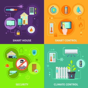 Go Basic or Bold in Your Mosaic Smart Home - smart home infographic
