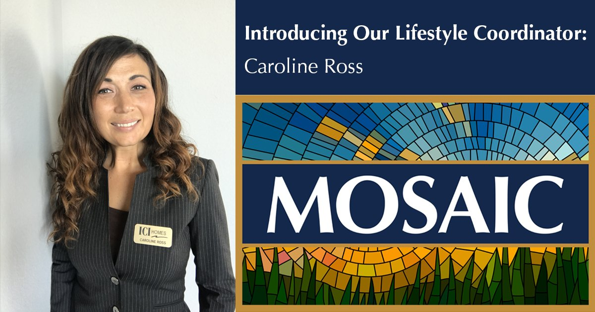 Introducing Mosaic's Lifestyle Coordinator - caroline ross 1