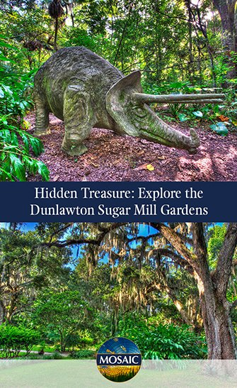 Hidden Treasure: Explore the Dunlawton Sugar Mill Gardens