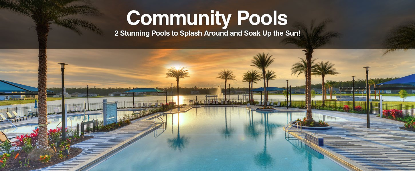 Community Pools at Mosaic