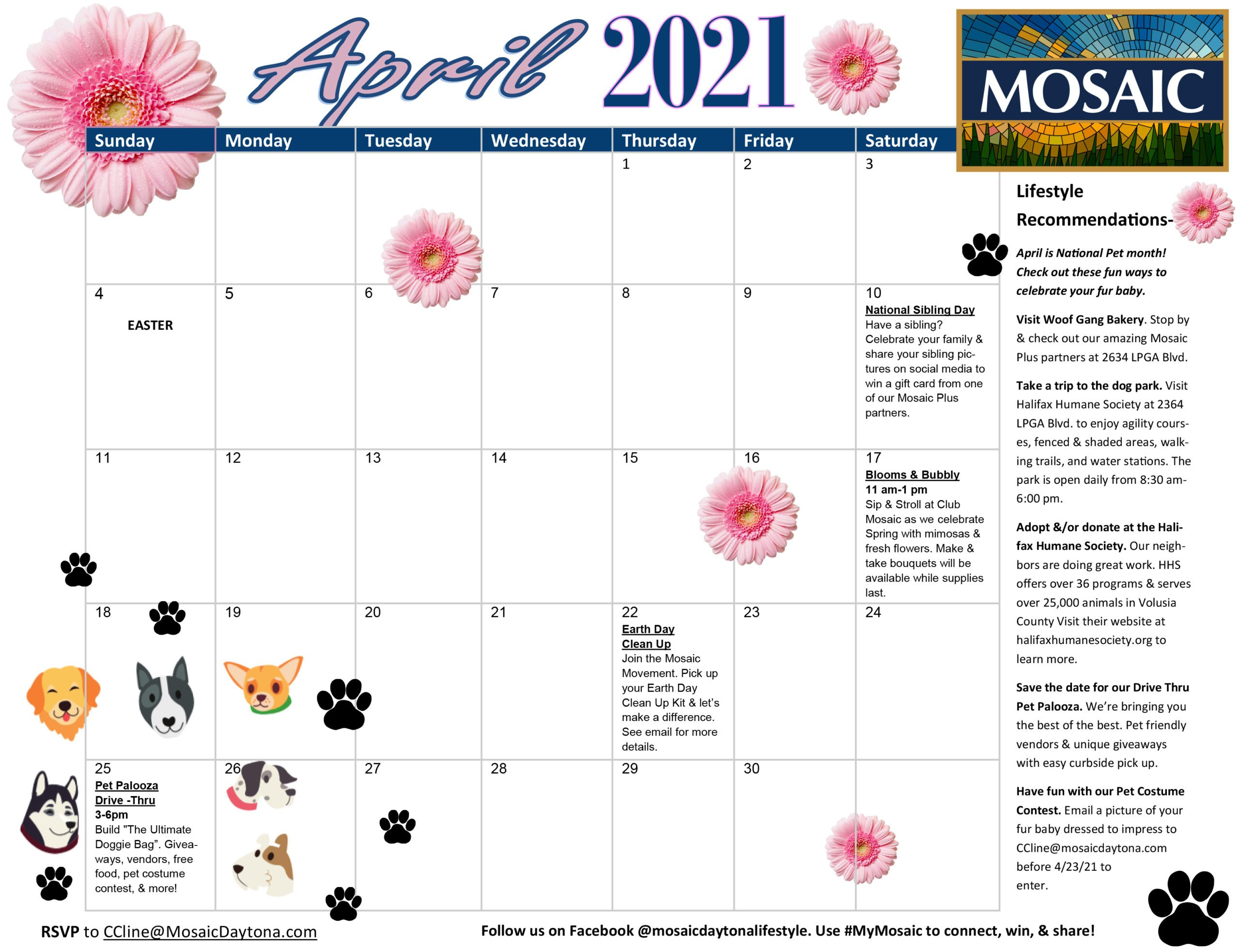 Events at Mosaic - APR 21 Calendar scaled
