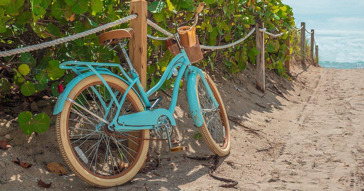 Pedal Power: Discover Daytona Beach Cycling Trails - beach bike